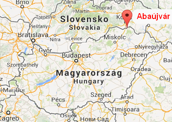 The location of Abaujvar mod
